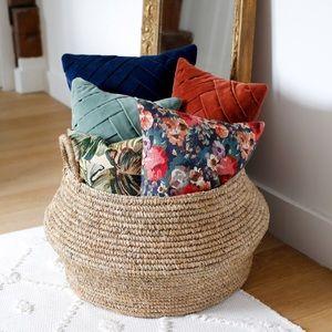 Sezane Floral Pillow
